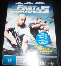 Fast And & The Furious 5 (Vin Diesel) (Australia Region 4) DVD – New