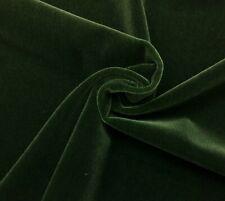 "Beacon Hill Plush Mohair Seaweed Green Velvet Furniture Drapery Fabric Bty 55""W"