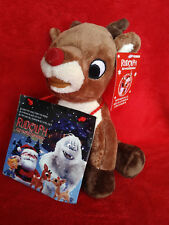 "RUDOLPH 9"" Plush W/ Music CD DanDee 2010 rudolph misfit toys NEW"