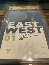 East of West 1 CGC SS 9.8 Dragotta & Hickman Signed 2013