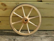 Two 11 inch Amish Made Maple/Ash Coaster Wagon/Civil War Cannon Wheels - 8 spoke