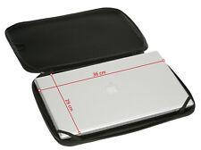 Laptop Schutzhülle Neopren PRO GUARD 17 Zoll Laptoptasche Notebooktasche Schwarz