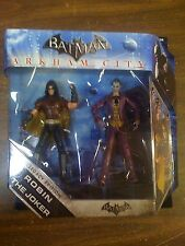 DC Batman Arkham City Legacy Edition Robin & Joker 2 Pack NEW FREE SHIP US