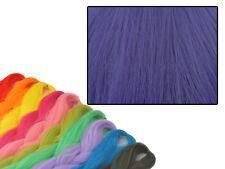 CYBERLOXSHOP PHANTASIA KANEKALON JUMBO BRAID IMPERIAL PURPLE HAIR DREADS