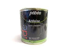 PEBEO - VERNICE FINITURA TIPO LAVAGNA - COLORE NERO - 500 ml