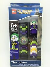 LEGO DC Super Heroes THE JOKER Mini-Figure Kids Watch 9001239 LIMITED COLLECTORS