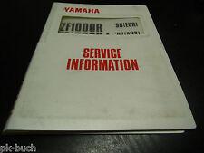 Service Information Yamaha YZF 1000 R 1000 RJ 1996 / 1997