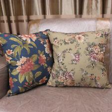 CURCYA Sofa Decorative Throw Pillow Case Vintage American Style Cushion Covers