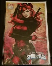 PETER PARKER SPECTACULAR SPIDER-MAN #1 KRS ARTGERM MARY JANE VARIANT