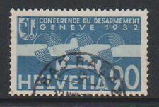Switzerland - 1932, 90c Air stamp - F/U - SG 346