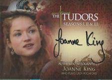 Joanne King Breygent The Tudors autograph auto card TA-JK