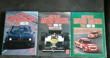 Australian Motor racing annual  x 3 (15, 16, 17) year 85,86,87,88
