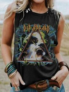 Women Gothic Shirt Skull Casual Tank Vest Top Ladies Blouse T-Shirt Plus Size