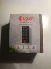 august smart lock keypad Dark Gray