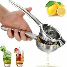 Stainless Steel Manual Lemon Lime Fruit Squeezer Orange Citrus Press Juicer US