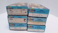HO SCALE ATHEARN BLUE BOX LOT of 6 TRAIN CARS