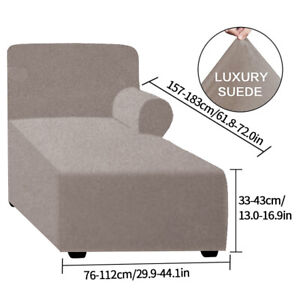 3 Seater Lounge Couch Seat Covers Slipcover Stretch Fabric Settee Protector Fit