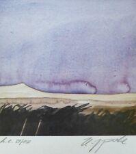 """HANS J.POHL """"Landscape ll """" HAND SIGNED NUMBERED 1985 SERIGRAPH GERMAN ARTIST"""