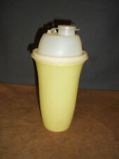 Tupperware Yellow Quick Shake Container Blender Mixer Gravy Protein Drink