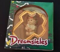 CHRISTMAS DREAMSICLES 1997 ORNAMENT 10197 GOLDEN CROSS NIB VINTAGE