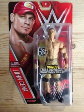 Raro WWE John Cena superestrella serie 58 Figura De Acción Nueva MATTEL Wrestling Chase