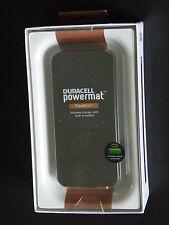Duracell Powermat POWER BANK TravelMat Back-up Battery/Wireless Charger, Black