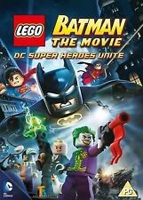 Lego Batman The Movie - DC Super Heroes Unite DVD 2013 Region 2