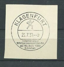 German Reich WW II : Fancy cancel from 1939 - Klagenfurt