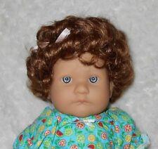 Monique TRINIA Doll Wig SZ 12/13 Full Cap~AUBURN~Lots of Curls ~Modacrylic Hair