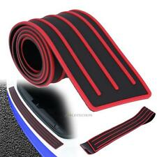 Rubber Car Rear Bumper Protector Trunk Sill Plate Guard Scratch Guard Pad Cover