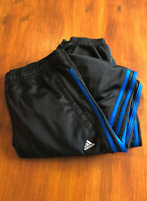 Boys Addidas Tracksuit Bottoms, Age 15/16 Years, Very Good Condition