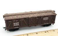 HO Scale Train Life-Like Central NYC 27303 Box Car NEW YORK Slight Weathered