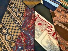 Lot 300 Pcs Neckties Vintage Polyester + More Fat Wide Skinny Narrow Neckties
