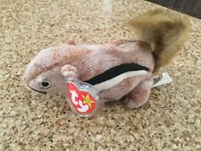 Ty Beanie Baby - CHIPPER - 1999 - Mint with Canadian Tush Tag