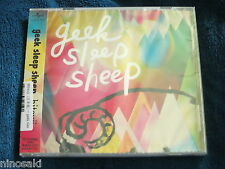 geek sleep sheep JROCK JPOP CD - hitsuji - BRAND NEW 2013 SINGLE - JAPAN VER