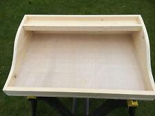WOODEN impregnazione TABLE TOP HAND MADE FOR a effetto serra o Capannone