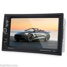 7020G 7 inch Car Audio Stereo MP5 Player Remote Control Rearview Cam GPS EU MAP