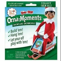 The Elf on the Shelf: Christmas Orna-Moments Snowmobile Scout Elf Size DIY Craft
