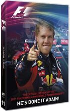 FORMULA 1 DVD OOP RARE F1 HE'S DONE IT AGAIN SEBASTIAN VETTEL SPORTS RACING 2011