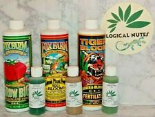 Fox Farm Trio,Grow big,Tiger Bloom,Big Bloom,Nutrient Bundle,organic,soil, 2oz,