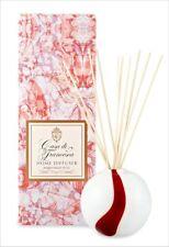 """Casa di Francesca PEPPERMINT TWIST 8.1 oz bottle + HAND BLOWN 4"""" VASE + reeds"""