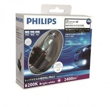 NEW PHILIPS LED Fog Bulbs X-treme Ultinon LED fog 6200K H8/H11/H16 12834UNIX2J