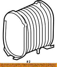 FORD OEM 03-07 F-350 Super Duty Engine-Air Filter Element 4C3Z9601AA