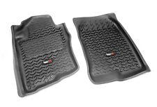Floor Liner Kit Front Black Fits 2005 To 2015 Nissan Xterra X 82905.1