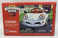 "NEW VINTAGE The Chevron Cars ""Sam Sedan"" 1996 Collectible Toy Rolling Eyes NIB"