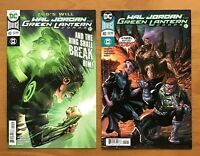 Hal Jordan and the Green Lantern Corps 40 Sandoval Main CVR +  Kirkham VAR DC NM