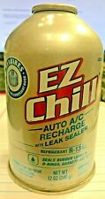 R134a Refrigerant STOP LEAK, EZ CHILL, NEW EPA REQUIRED Self-Sealing Can, 12 oz.