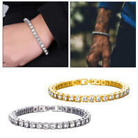 5mm Strass Stapelbar Tennis Armband Schmuck