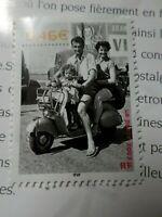FRANCE 2002 timbre 3521, SIECLE AU FIL, MOTO VESPA, neuf**, MNH