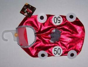 Petco bootique Fast & Furious dog rider costume red car mouse driver Halloween